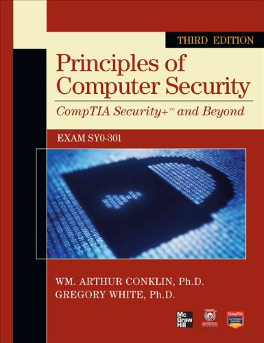 Principles of Computer Security  3rd 2012 edition cover