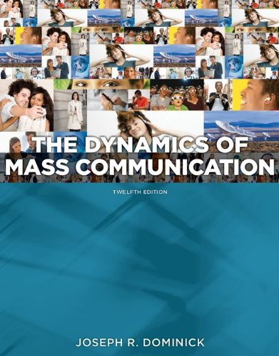 Dynamics of Mass Communication  12th 2013 edition cover