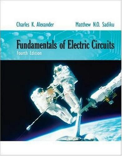 Fundamentals of Electric Circuits  4th 2009 edition cover