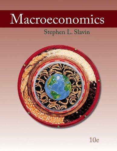Macroeconomics  10th 2011 edition cover
