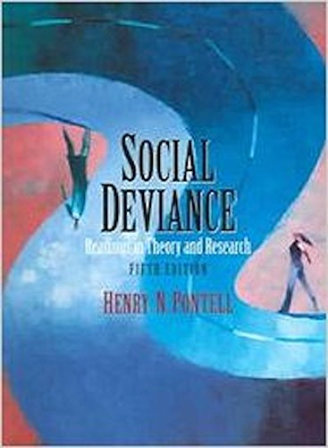 Social Deviance Readings in Theory and Research 5th 2005 edition cover