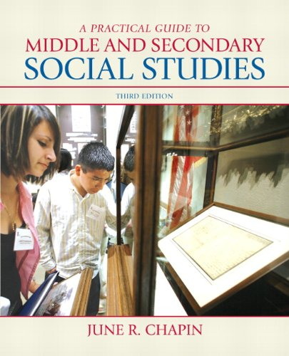 Practical Guide to Middle and Secondary Social Studies  3rd 2011 edition cover