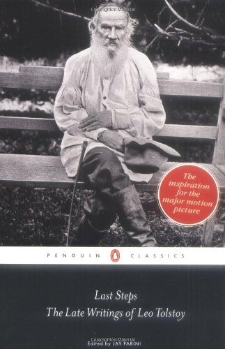 Last Steps The Late Writings of Leo Tolstoy  2009 edition cover