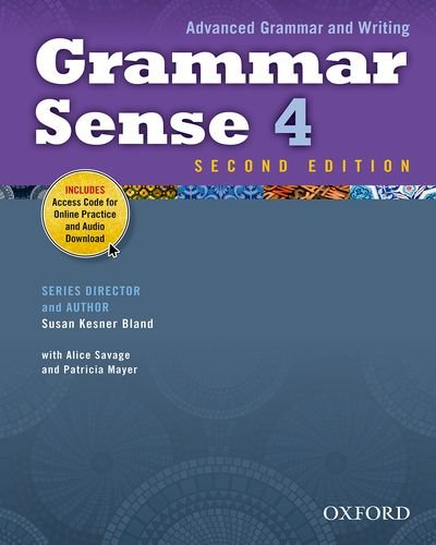 Grammar Sense 4  2nd (Student Manual, Study Guide, etc.) edition cover