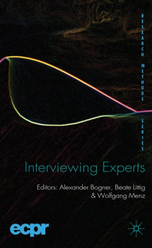 Interviewing Experts   2009 9780230220195 Front Cover