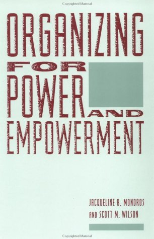 Organizing for Power and Empowerment   1994 edition cover