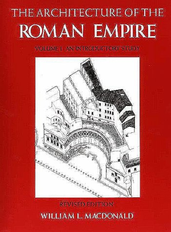 Architecture of the Roman Empire An Introductory Study  1982 (Revised) edition cover