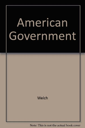 American Government  6th 1996 9780314061195 Front Cover