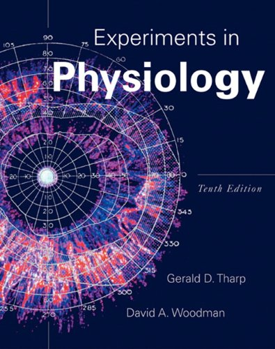 Experiments in Physiology  10th 2011 edition cover