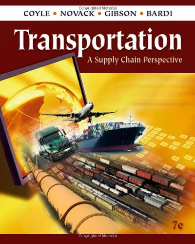 Transportation A Supply Chain Perspective 7th 2011 edition cover