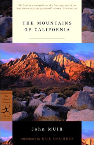 Mountains of California   2001 edition cover
