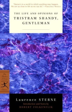 Life and Opinions of Tristram Shandy, Gentleman   2004 (Reprint) edition cover