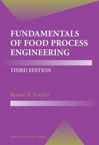 Fundamentals of Food Process Engineering  3rd 2007 (Revised) edition cover