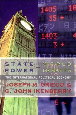 State Power and World Markets The International Political Economy  2002 edition cover