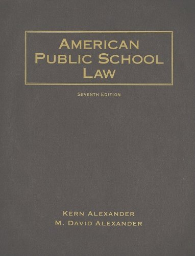 American Public School Law  7th 2009 (Revised) edition cover