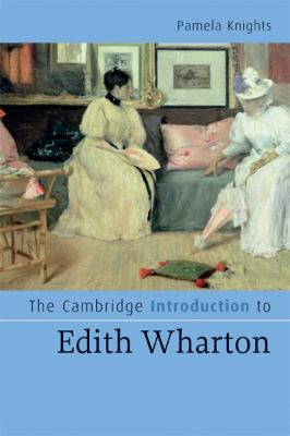 Cambridge Introduction to Edith Wharton   2009 9780521687195 Front Cover