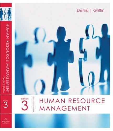Human Resource Management  3rd 2008 edition cover