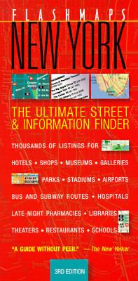 Flashmaps New York City The Ultimate Street and Information Finder 3rd 1996 9780679030195 Front Cover