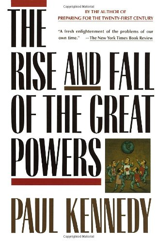 Rise and Fall of the Great Powers   1989 edition cover