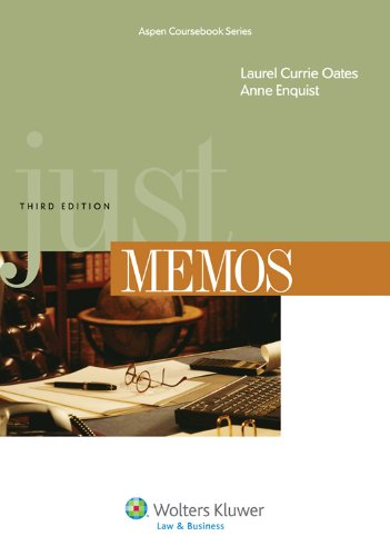 Just Memos 3e  3rd 2011 (Revised) edition cover