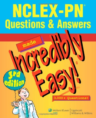 NCLEX-PN� Questions and Answers  3rd 2009 (Revised) edition cover