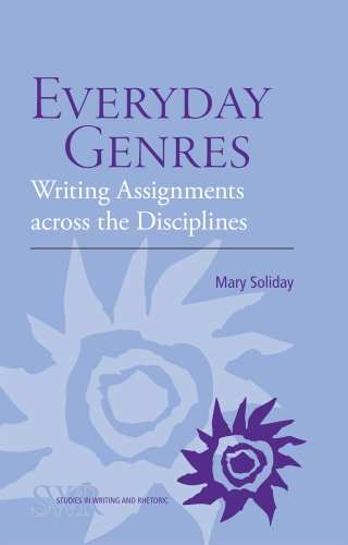 Everyday Genres Writing Assignments Across the Disciplines  2010 edition cover