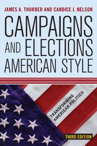 Campaigns and Elections American Style  4th 2009 edition cover