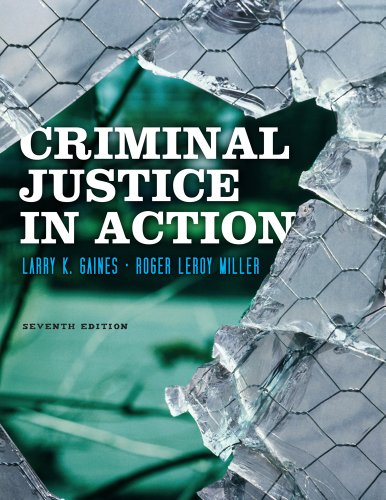 Criminal Justice in Action  7th 2013 edition cover