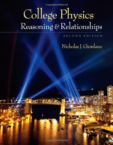 College Physics Reasoning and Relationships 2nd 2013 edition cover