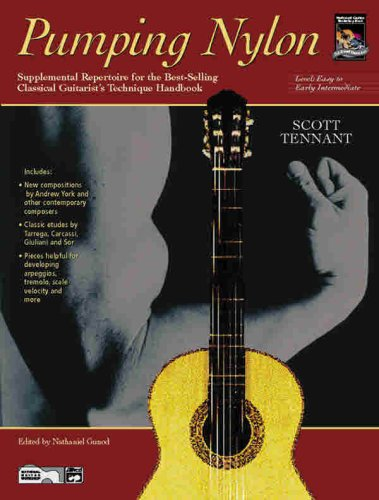 Pumping Nylon Supplemental Repertoire for the Best-Selling Classical Guitarist's Technique Handbook  1998 edition cover