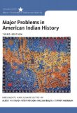 Major Problems in American Indian History:   2014 edition cover