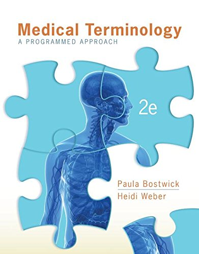 Medical Terminology A Programmed Approach 2nd 2013 9781259675195 Front Cover