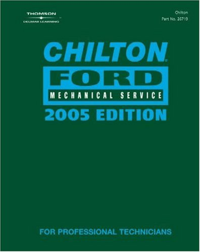 Chilton 2005 Ford Mechanical Service Manual (2001-2005)  2005 9781401867195 Front Cover