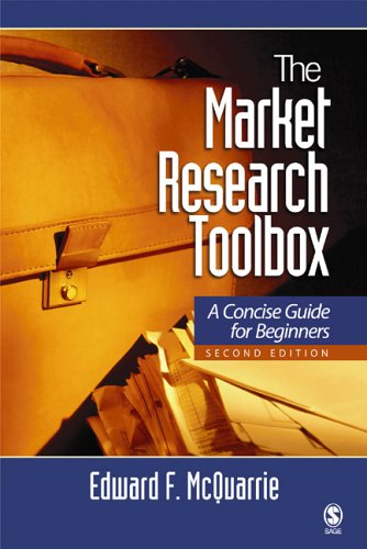 Market Research Toolbox A Concise Guide for Beginners 2nd 2006 (Revised) 9781412913195 Front Cover