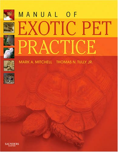 Manual of Exotic Pet Practice   2008 edition cover