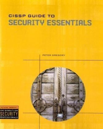 CISSP Guide to Security Essentials   2010 edition cover