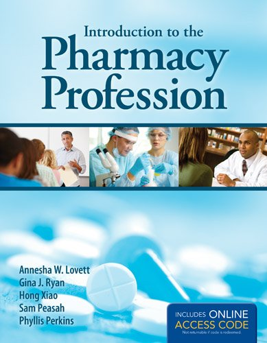 Introduction to the Pharmacy Profession   2014 edition cover