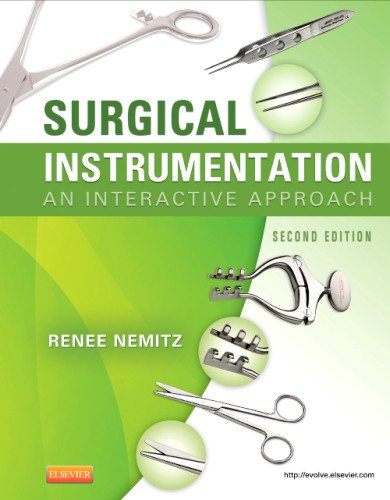 Surgical Instrumentation An Interactive Approach 2nd edition cover