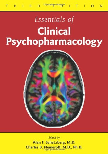 Essentials of Clinical Psychopharmacology  3rd 2013 (Revised) edition cover