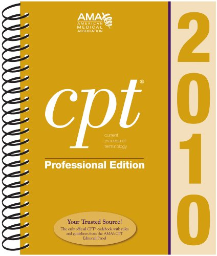 Editorial Corrections Document - CPT� 2010   2010 edition cover