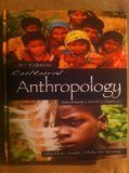 CULTURAL ANTHROPOLOGY N/A edition cover