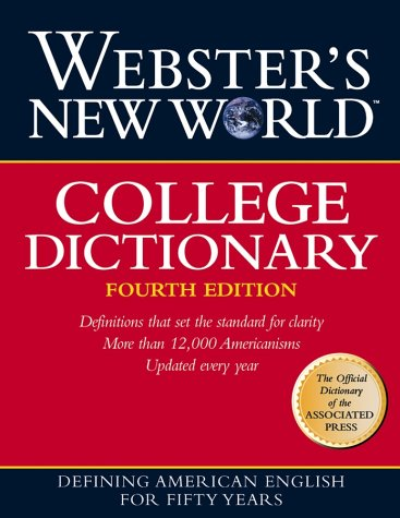 College Dictionary  4th 1999 (Revised) edition cover