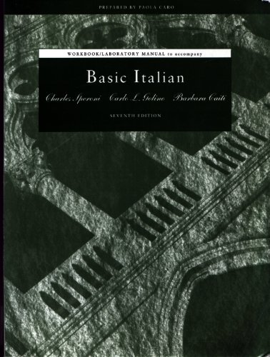 Basic Italian  7th 1993 edition cover
