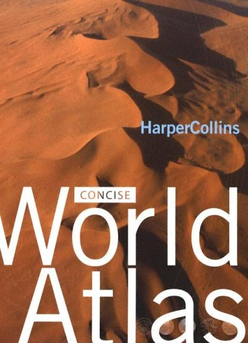 HarperCollins Concise World Atlas  N/A 9780060521196 Front Cover