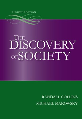 Discovery of Society  8th 2010 edition cover