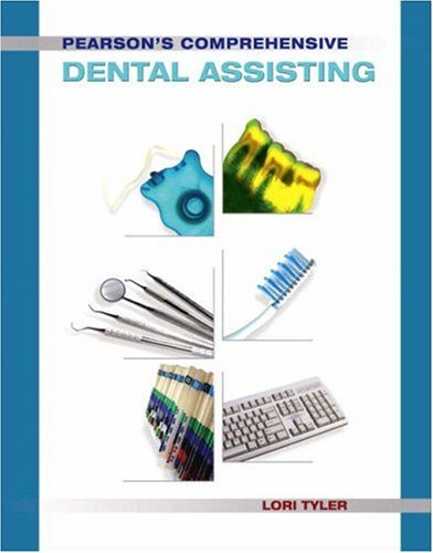 Pearson's Comprehensive Dental Assisting   2009 edition cover