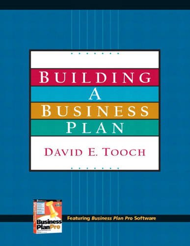 Building a Business Plan and Plan Pro Package  2nd 2006 (Revised) 9780131955196 Front Cover