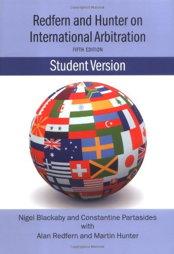 Redfern and Hunter on International Arbitration  5th 2009 (Student Manual, Study Guide, etc.) edition cover