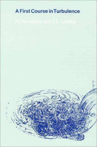 First Course in Turbulence   1972 edition cover