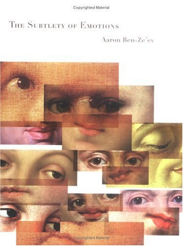 Subtlety of Emotions   2000 (Reprint) 9780262523196 Front Cover